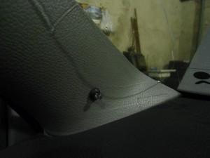 Светодиод на панели авто