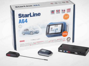 Сигнализация Starline a64. Как установить
