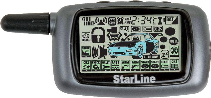 Брелок сигнализации Starline a8