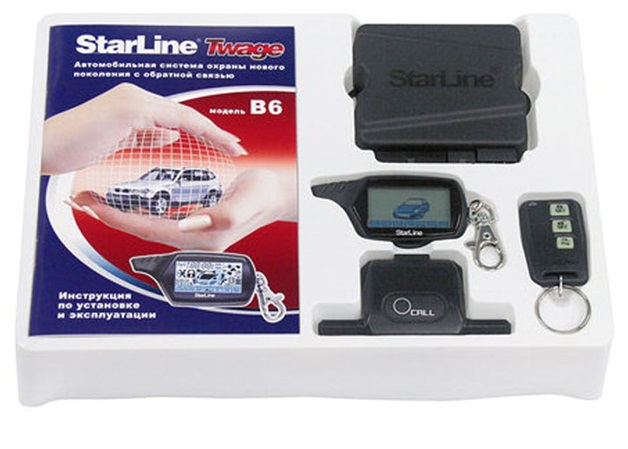 Автосигнализация Starline b6