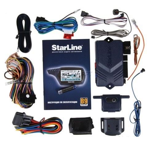 Автозапуск сигнализации starline b9