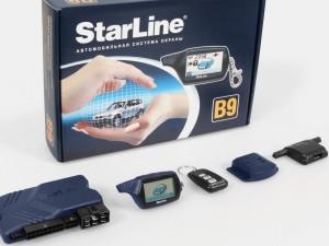 Методика отключения системы автомобильной сигнализации Starline b9