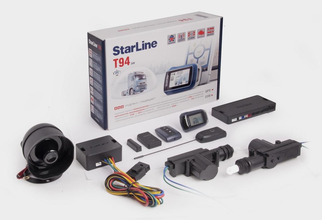 Комплектация Starline t94