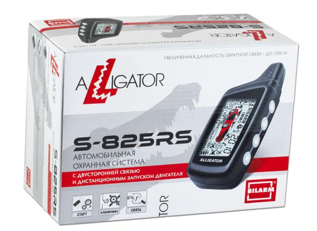аллигатор S825rs инструкция по установке - фото 8