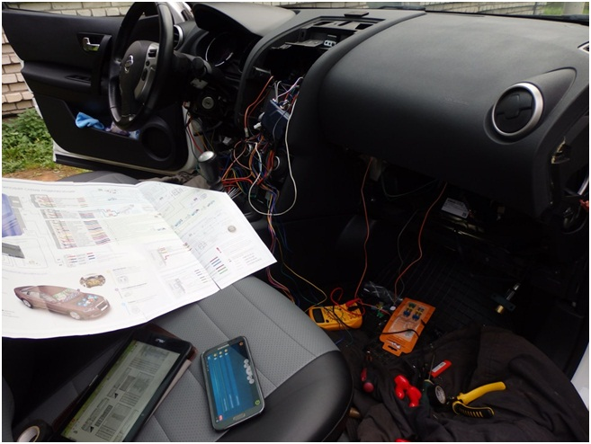 Подключение автосигнализации Старлайн