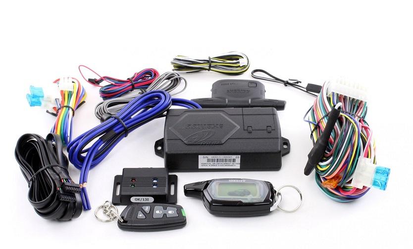 В упаковке сигнализации Sheriff ZX-940