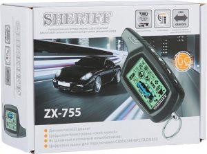 Сигнализация sheriff-zx-755