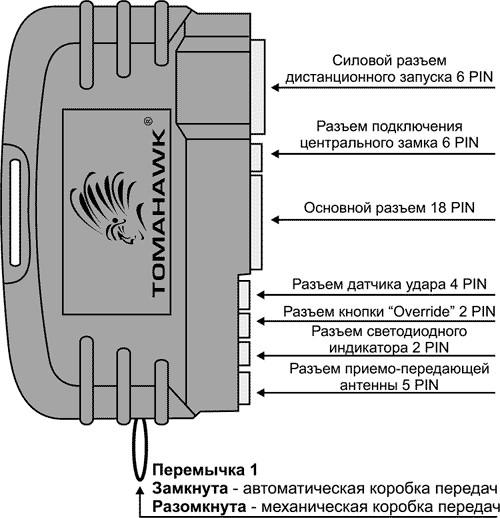 Схема tomahawk tz 9010