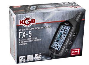 Сигнализация kgb fx 5