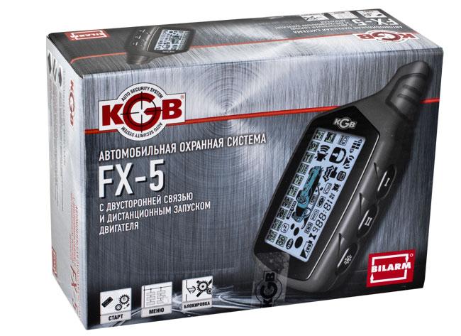 Автосигнализация Kgb Tfx-5 инструкция