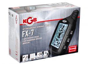 Сигнализация KGB FX-7