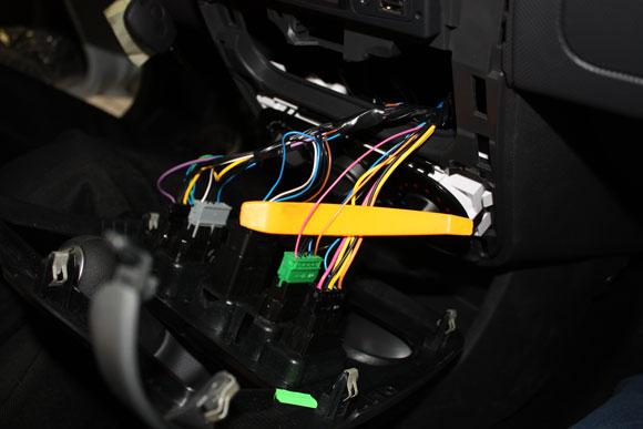 Рено логан – точки подключения сигнализации