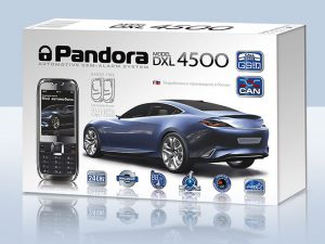 Коробка Pandora dxl 4500