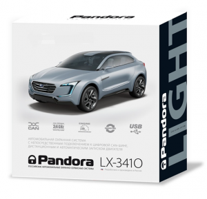 Коробка Pandora lx 3410