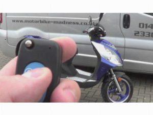 Cигнализация на скутер