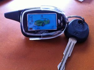 Брелок с ключом