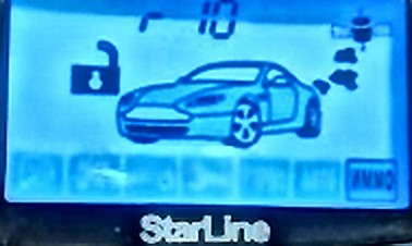 Настройка starline a91