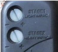 Условные обозначения около регуляторов