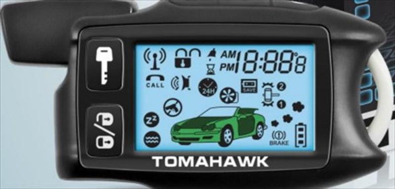 Сигнализация томагавк 434 mhz инструкция prosinstrukciya.