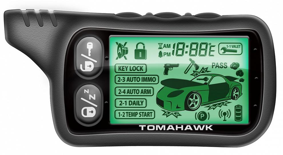 Сигнализация tomahawk x5: инструкция по установке и эксплуатации.