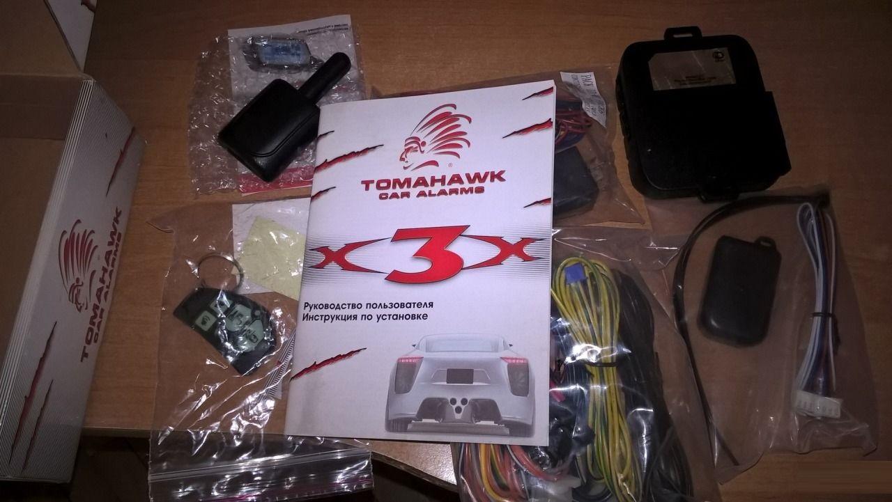 Автосигнализациия tomahawk x3. Описание, технические.