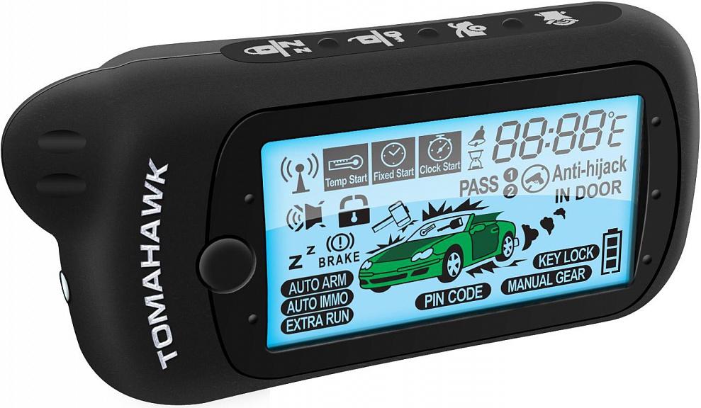Tomahawk z5: особенности сигнализации, функции, инструкция.